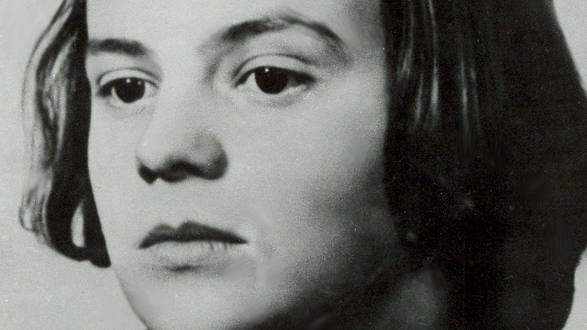 Undatierte Aufnahme von Sophie Scholl.