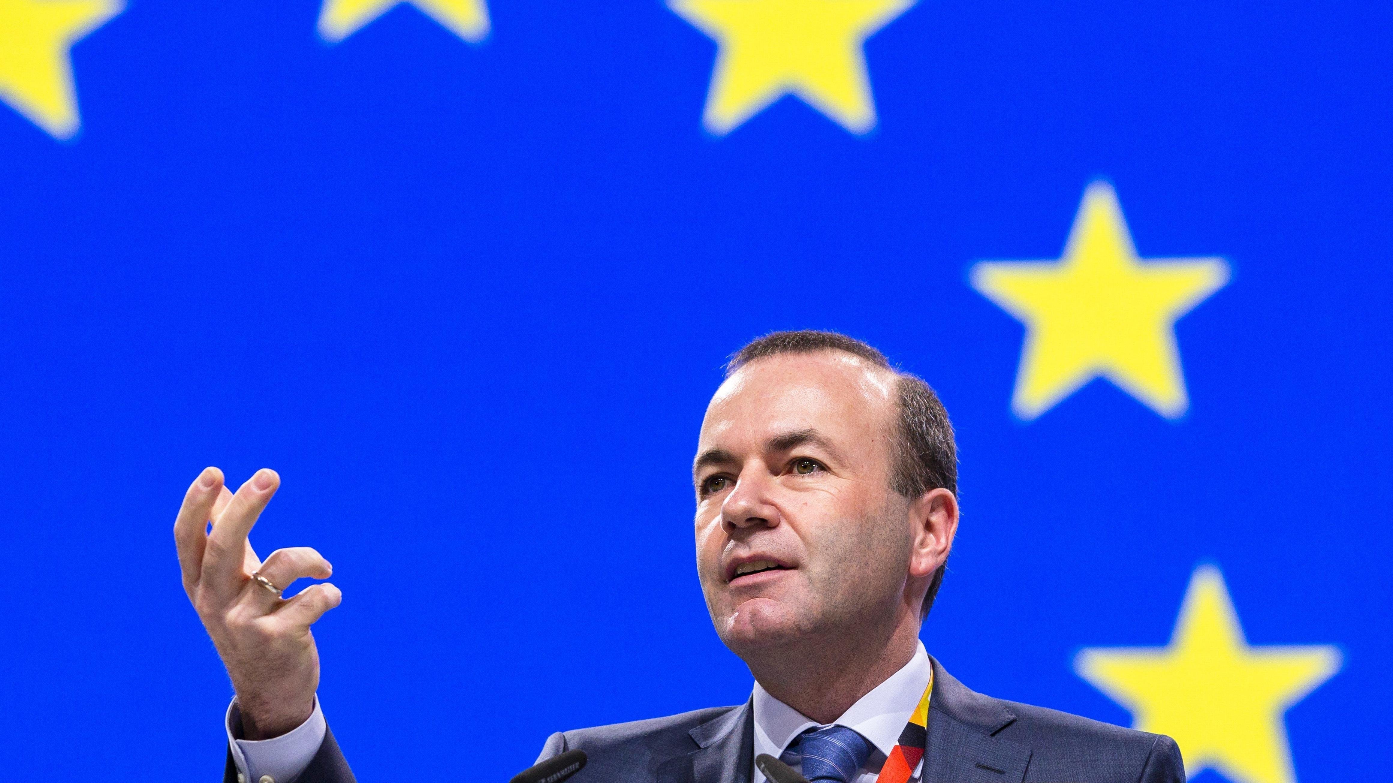 EU-Spitzenkandidat der EVP Manfred Weber