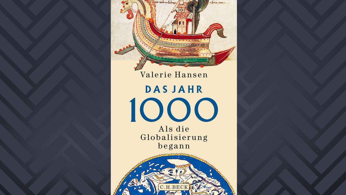 """Cover des Buchs """"Das Jahr 1000"""" von Valerie Hansen"""