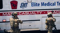 Polizisten in El Paso im Einsatz | Bild:picture alliance / newscom