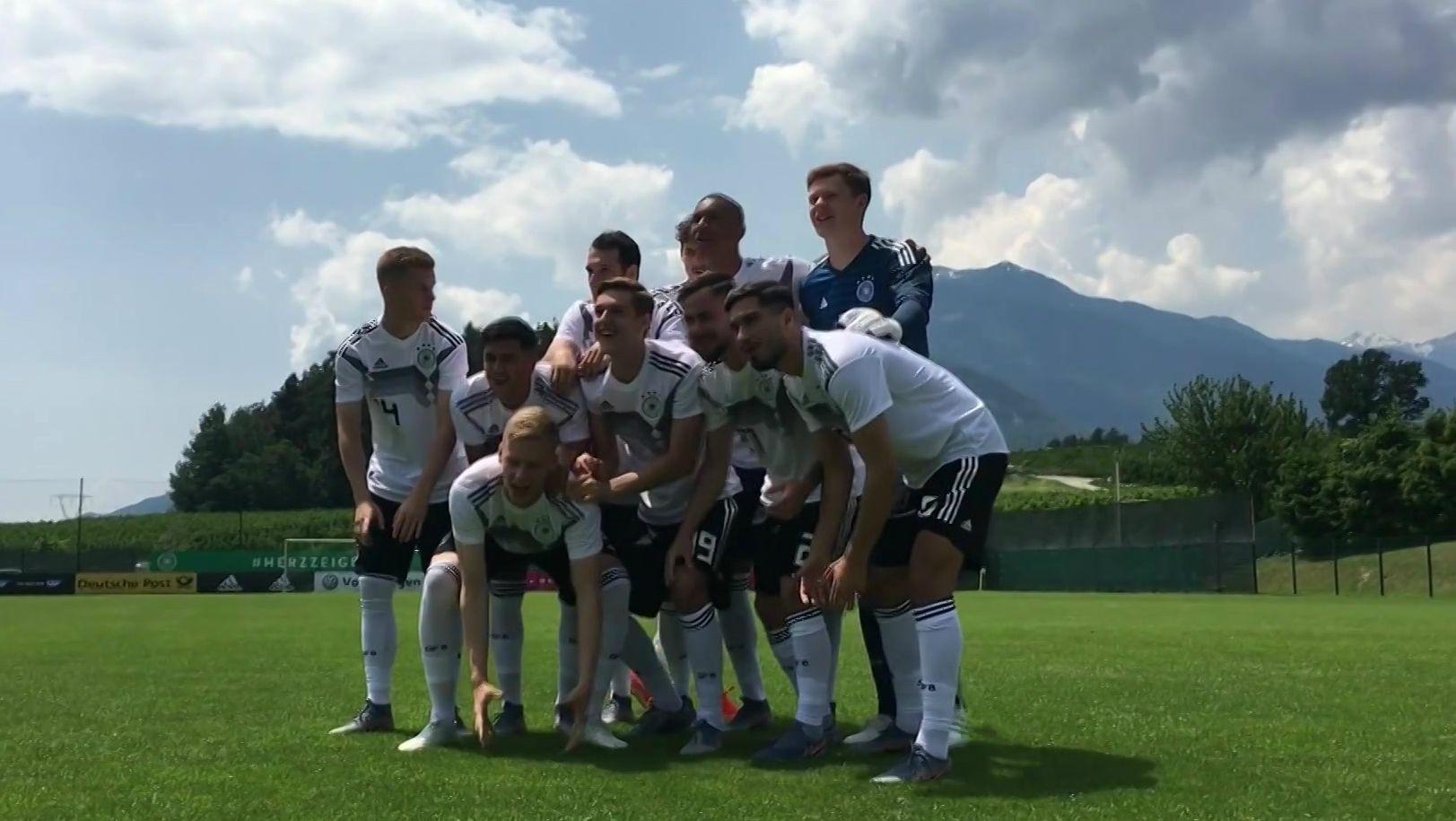 U21-Nationalmannschaft im Trainingslager in Südtirol