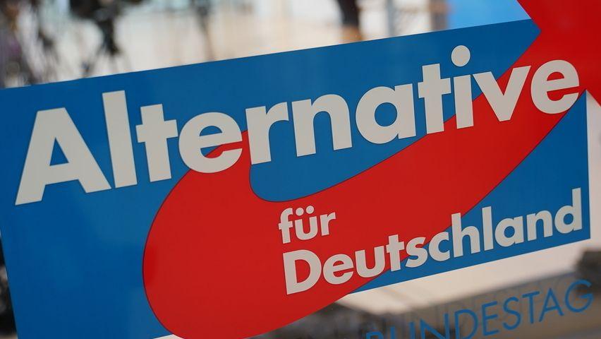 Symbolbild: Schriftzug Alternative für Deutschland