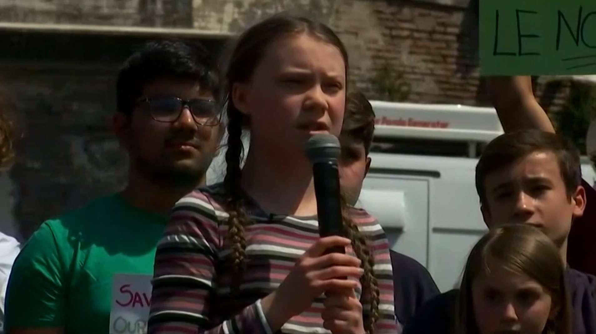Greta Thunberg, Klimaschutzaktivistin
