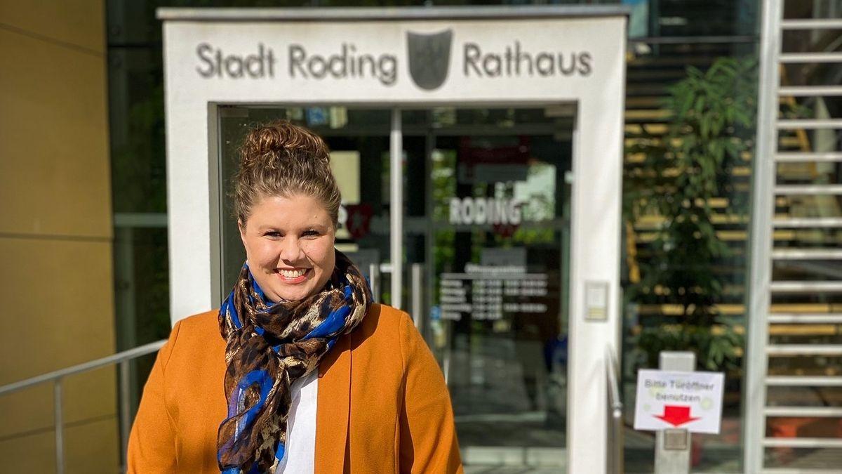 Alexandra Riedl, neue Bürgermeisterin von Roding (Lkr. Cham)