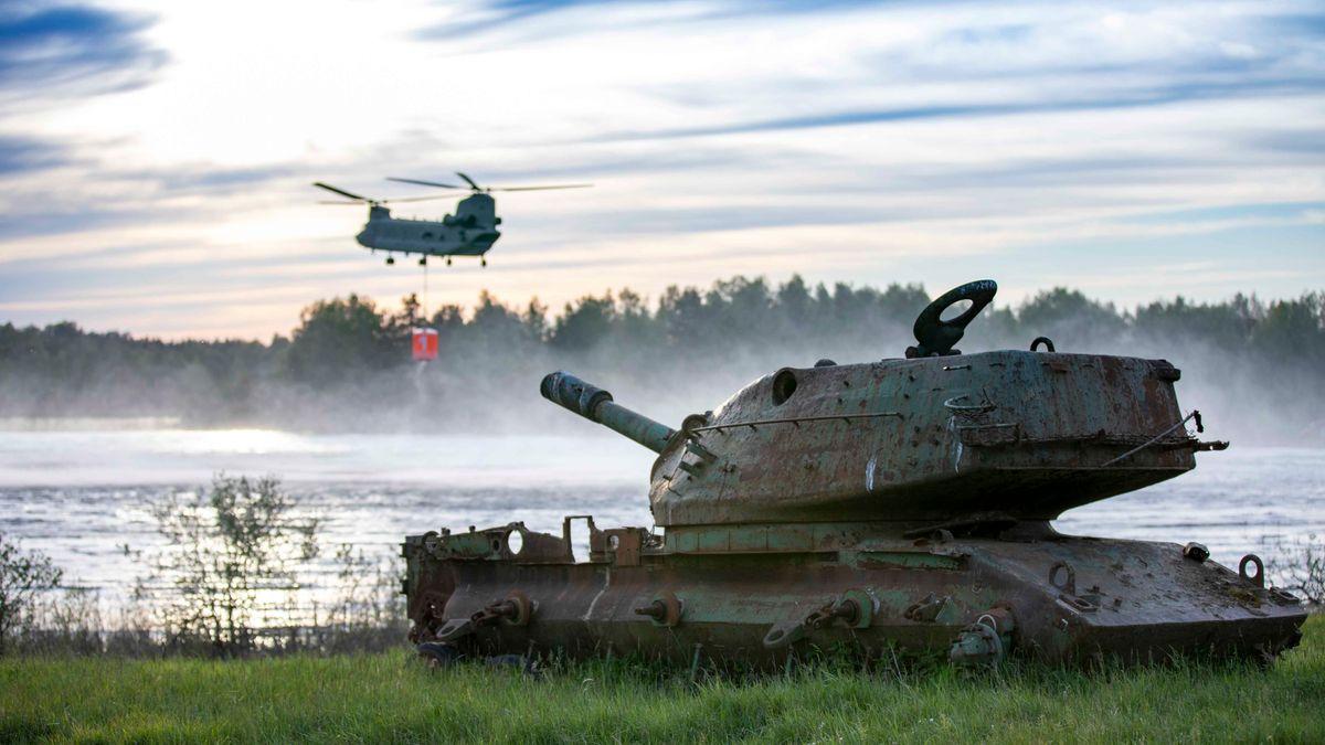 US-Soldaten trainieren Grafenwöhr