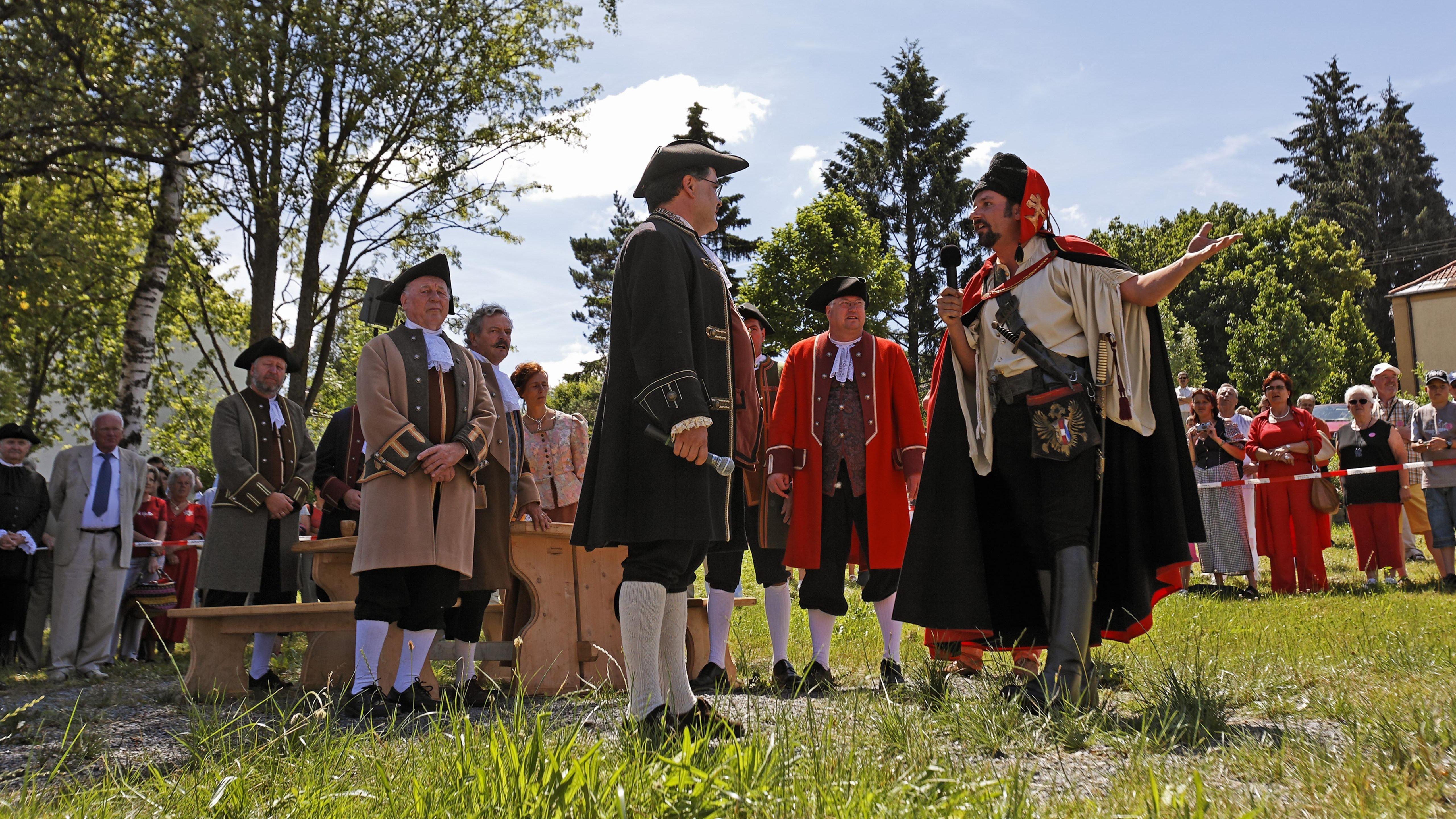 Das historische Pandurenfest in Spiegelau im Bayerischen Wald findet nur alle zwei Jahre statt