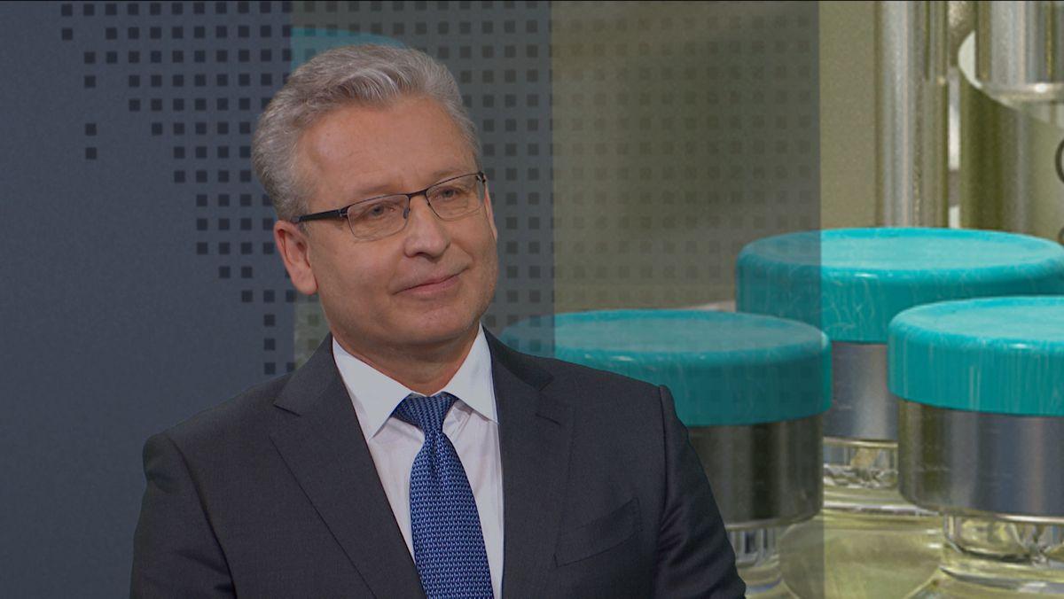 Der Virologe Prof. Oliver Keppler