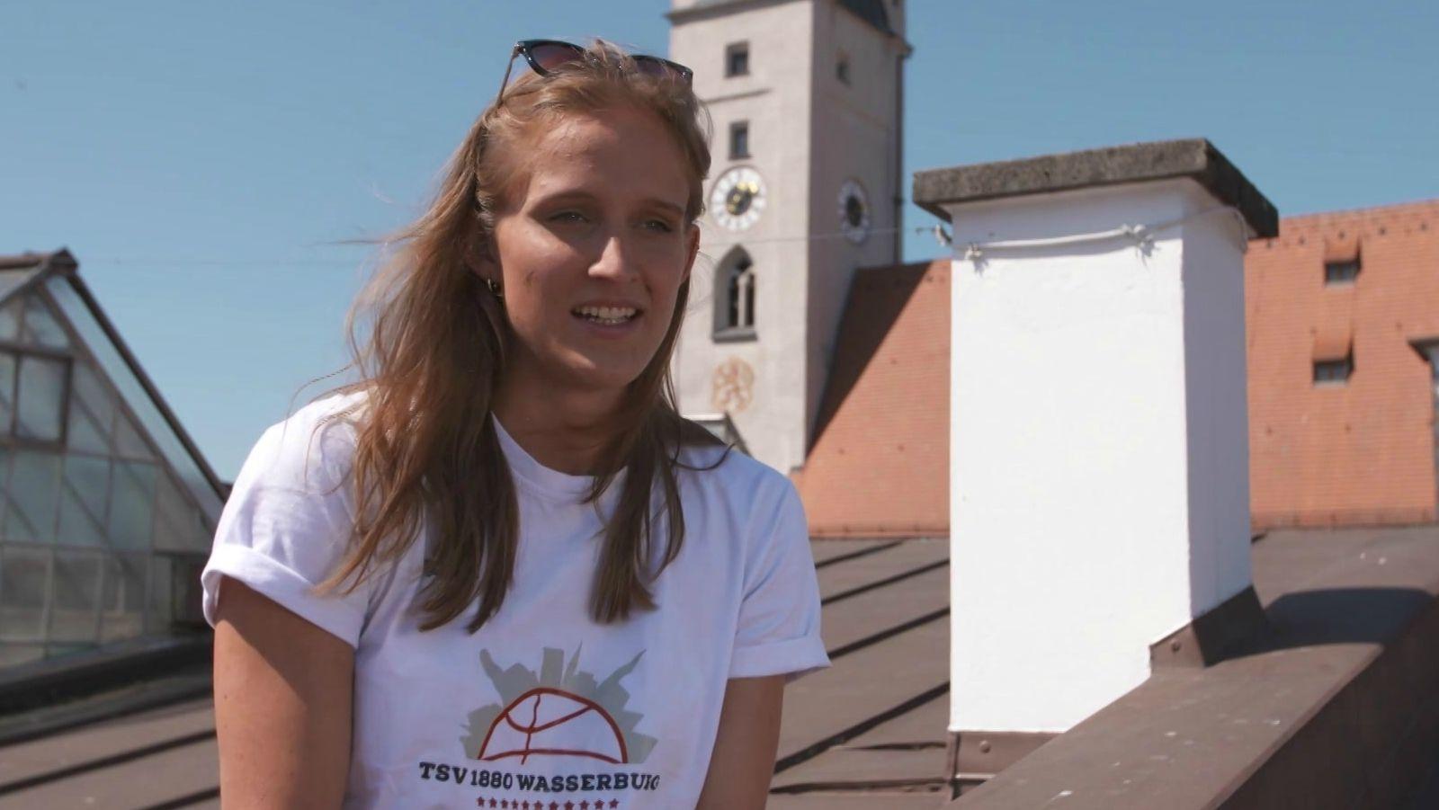 Leonie Fiebich vom TSV 1880 Wasserburg