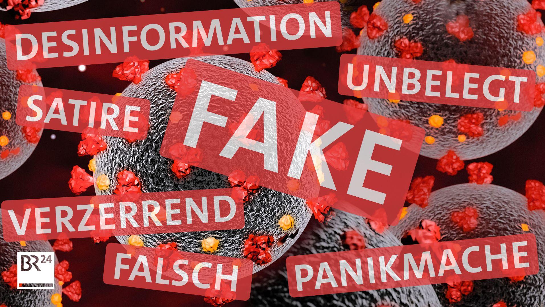 Gerüchte und Falschmeldungen zu Corona verbreiten sich so schnell wie das Virus selbst. Der Faktenfuchs checkt sie laufend.