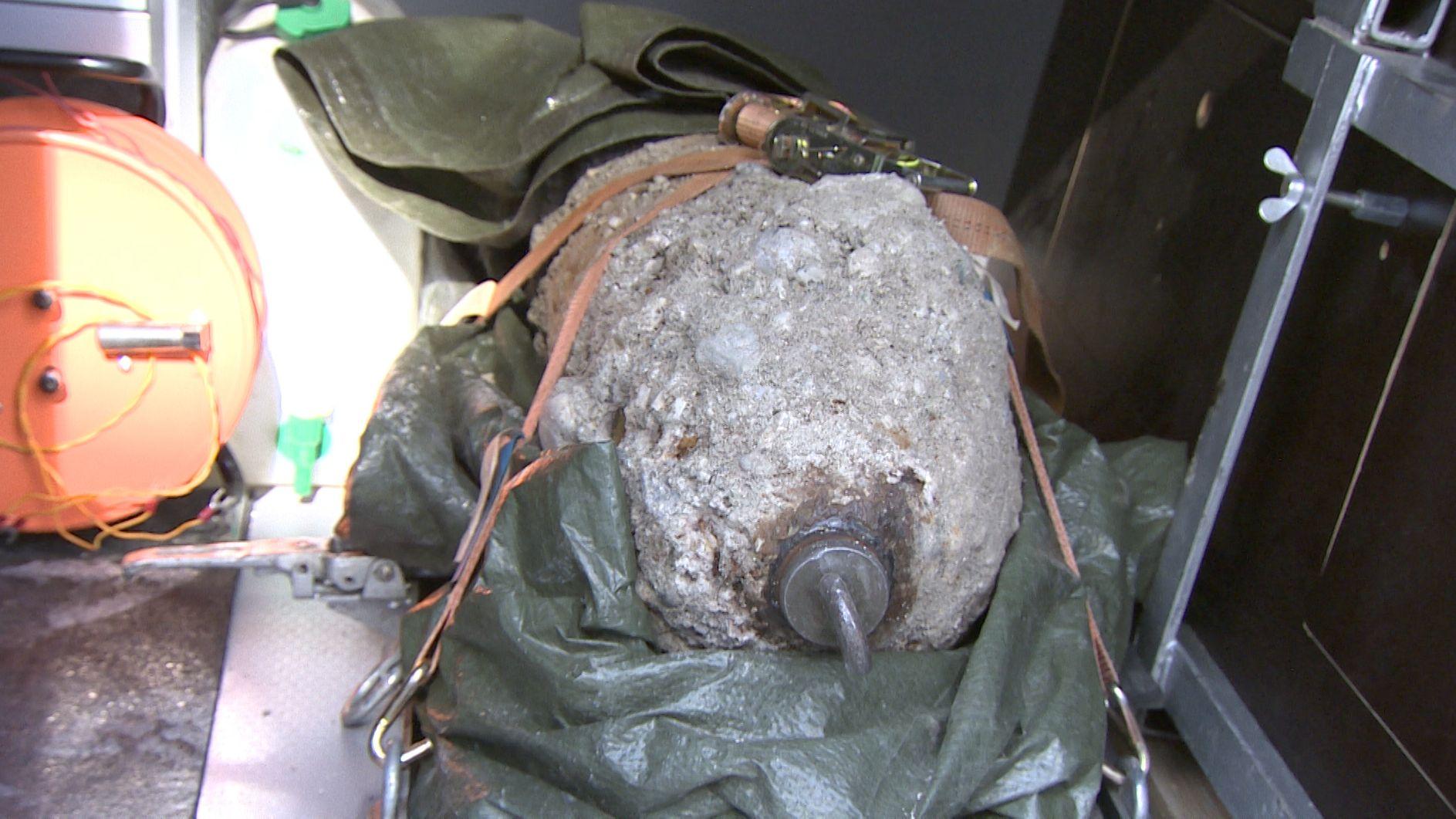 Wieder Fliegerbombe in Erding entschärft