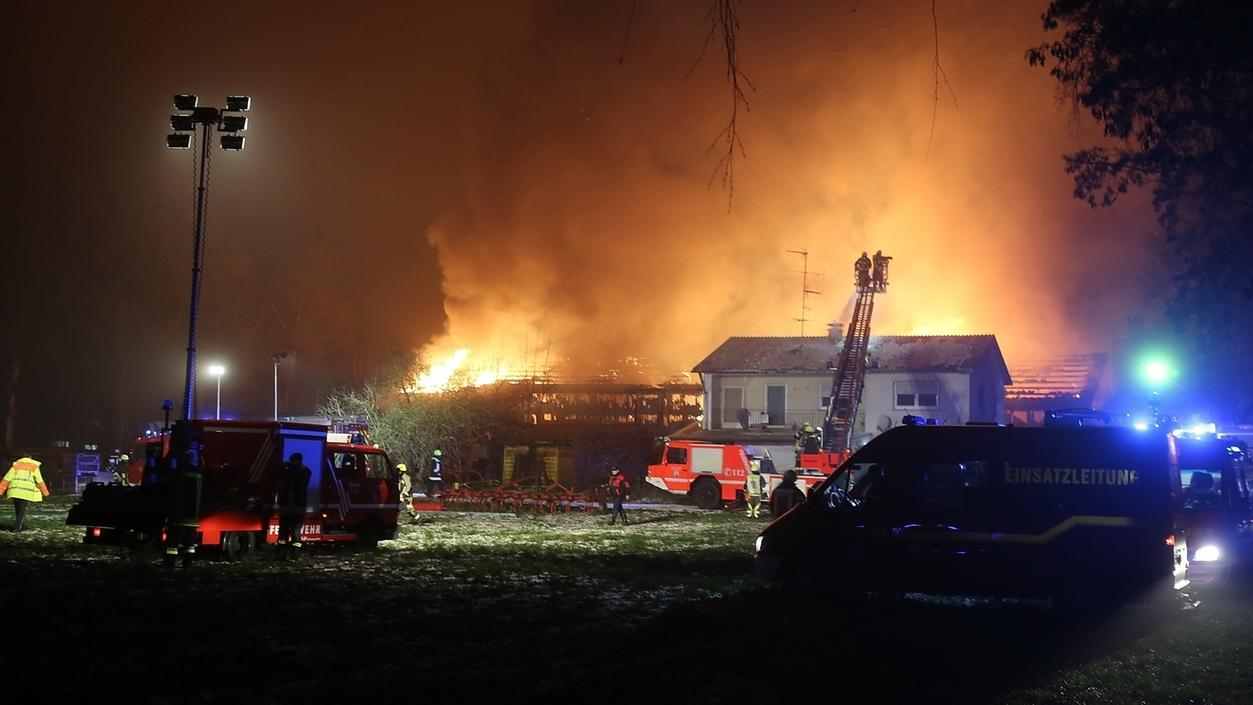 Großbrand verursacht Millionenschaden
