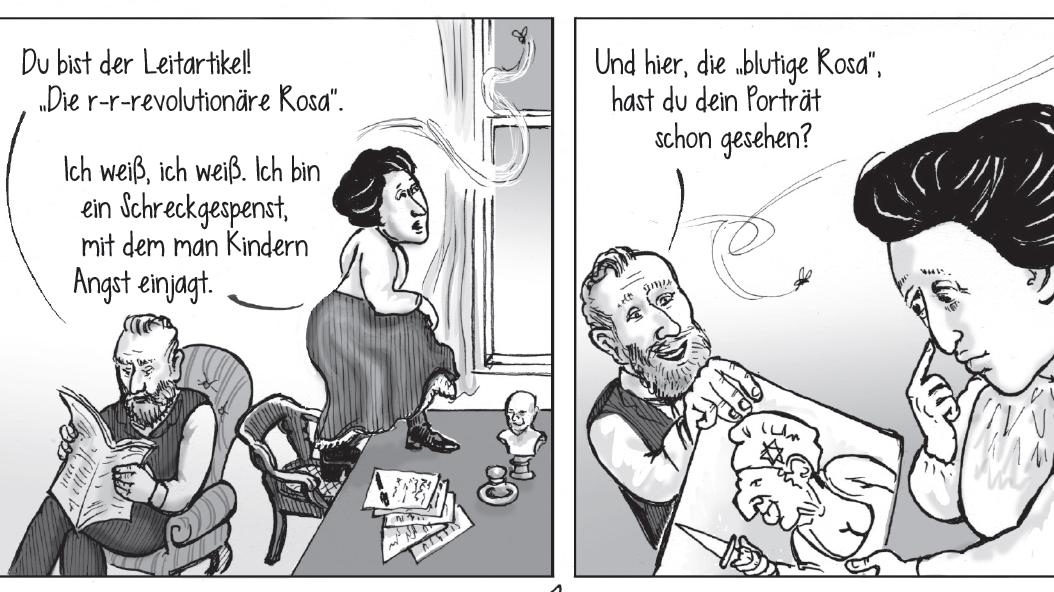"""Ausschnitt aus der Graphic Novel """"Rosa"""" von Kate Evans"""