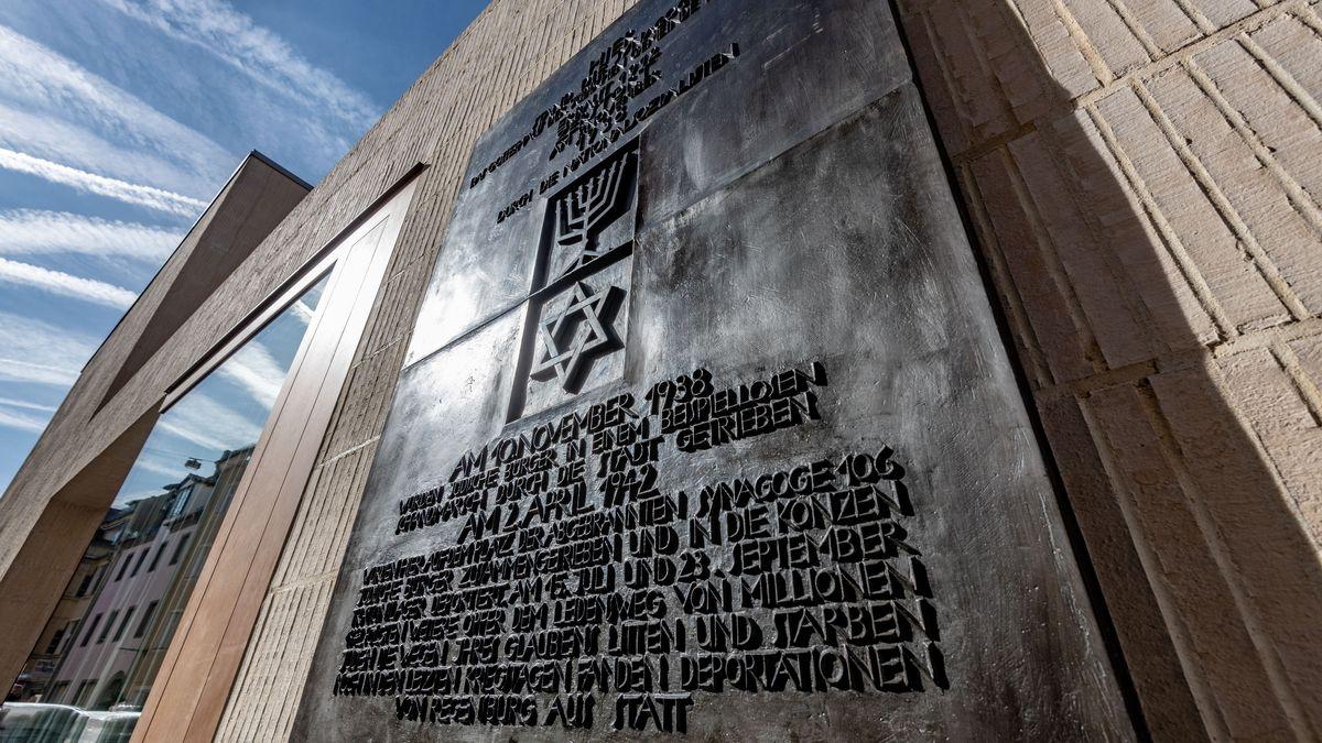 Die neue Synagoge in Regensburg