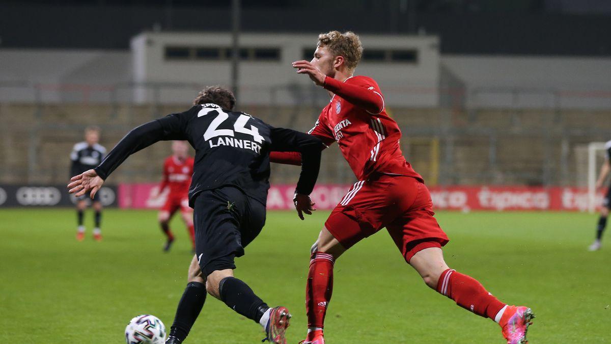 3. Liga: FC Bayern II verspielt Führung gegen Verl