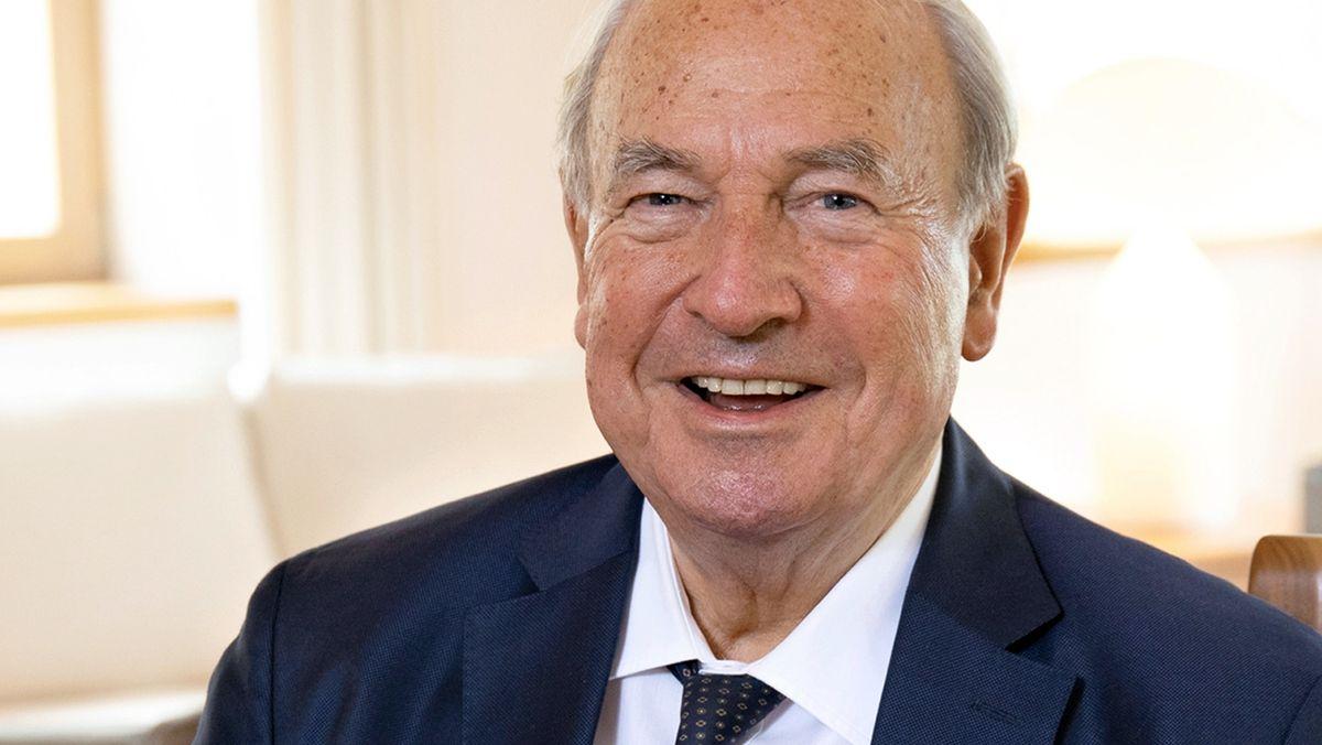 Heinz Hermann Thiele, Mehrheitsaktionär und Ehrenvorsitzender des Aufsichtsrats der Knorr-Bremse AG (Foto undatiert).