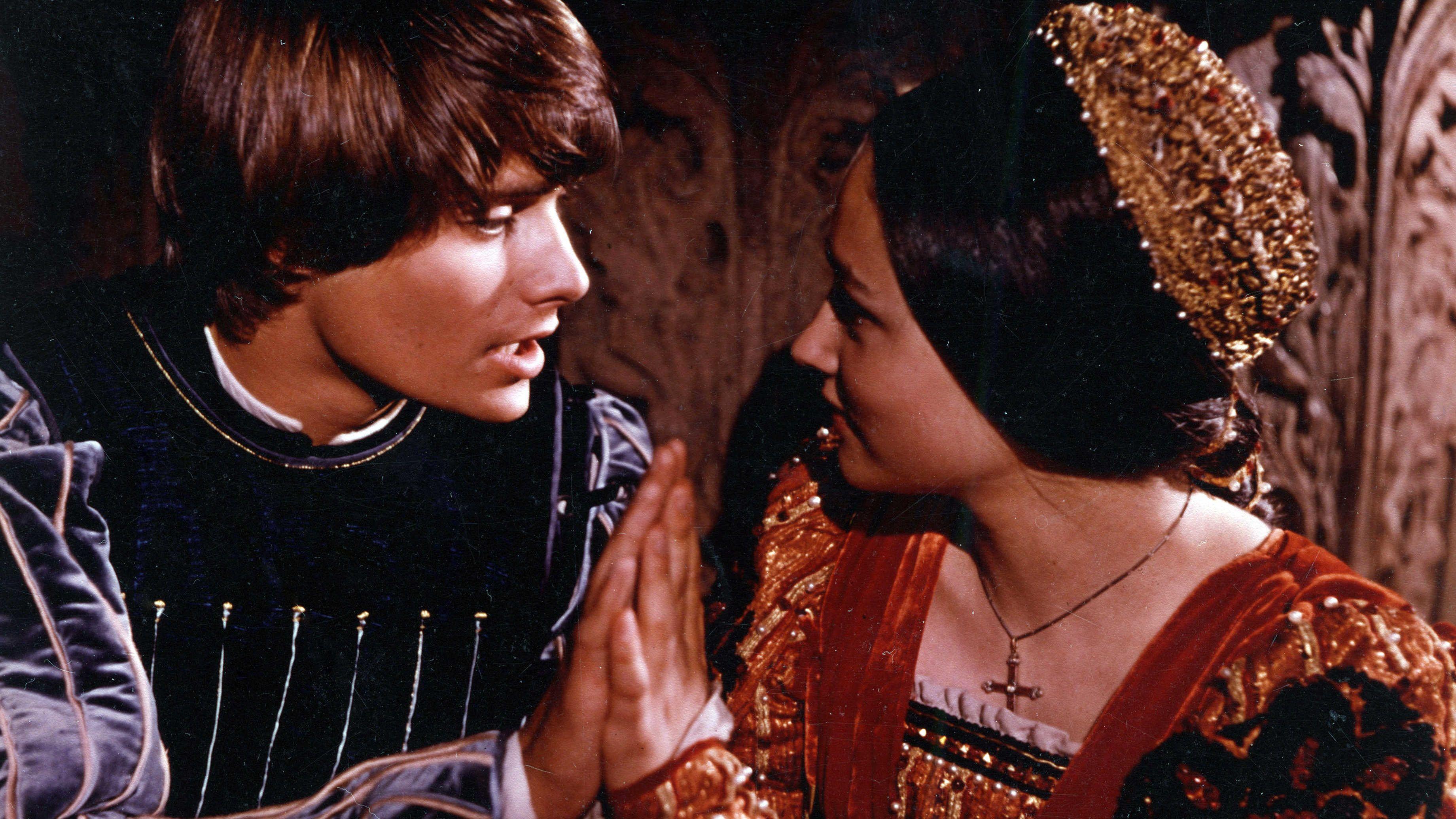 """Leonard Whiting und Olivia Hussey in """"Romeo und Julia"""""""