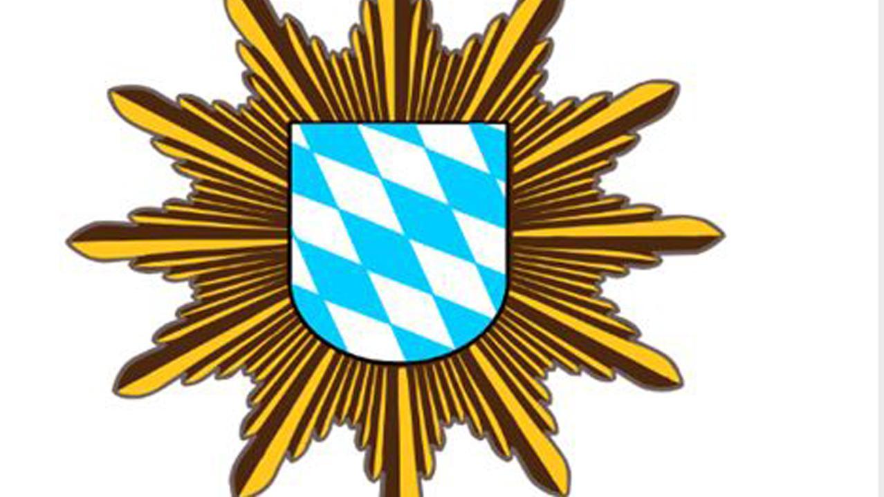 Wappen der bayerischen Polizei aus der Hacker-Mail.