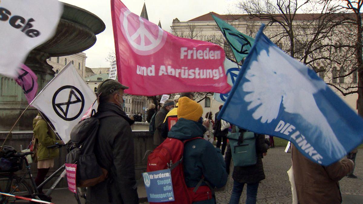 Ostermarsch in München.