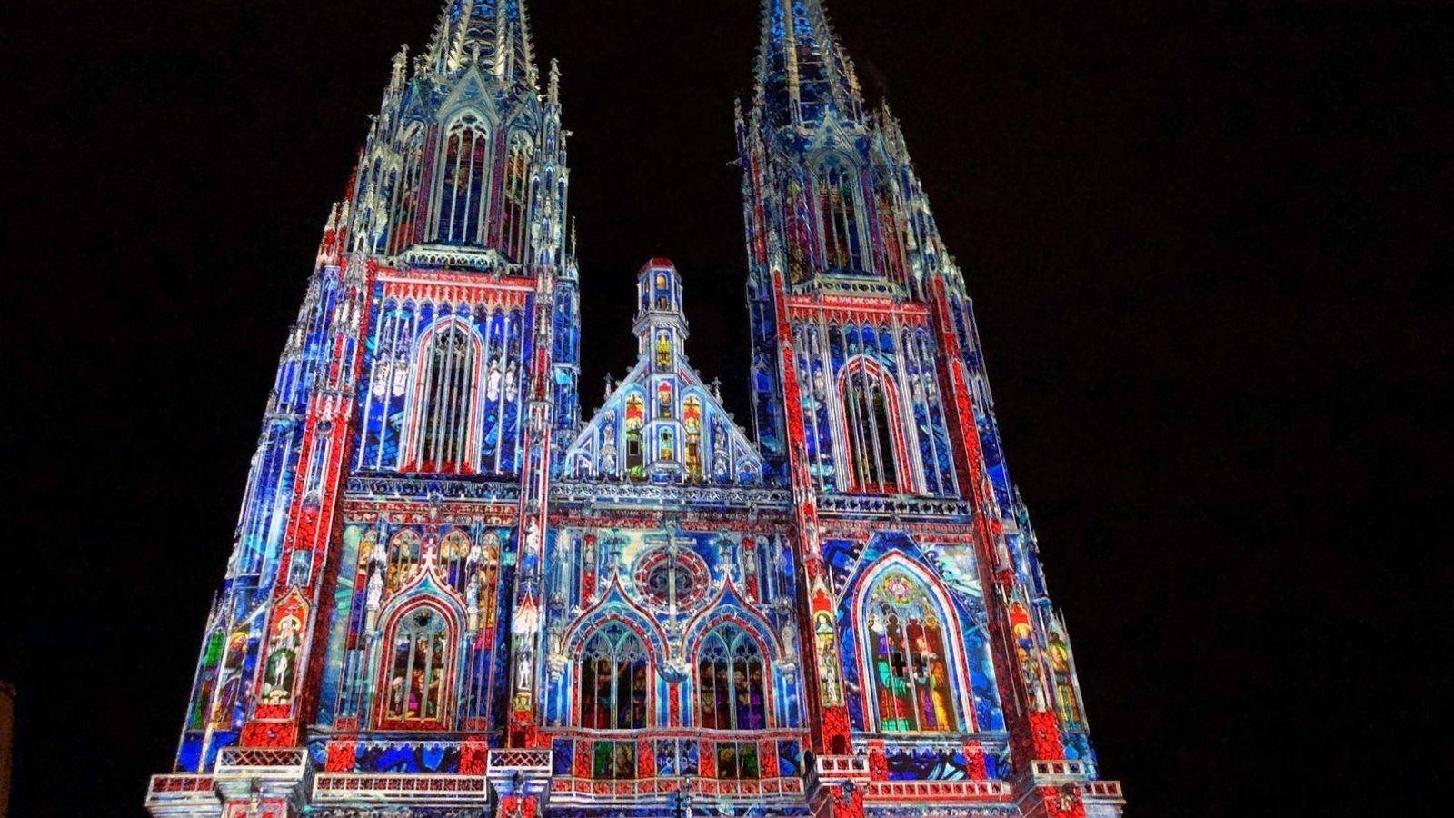 Regensburger Dom Illumination: