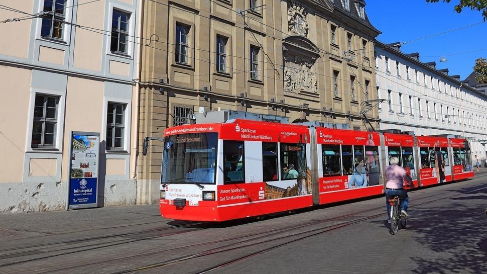 Straßenbahn in Würzburg