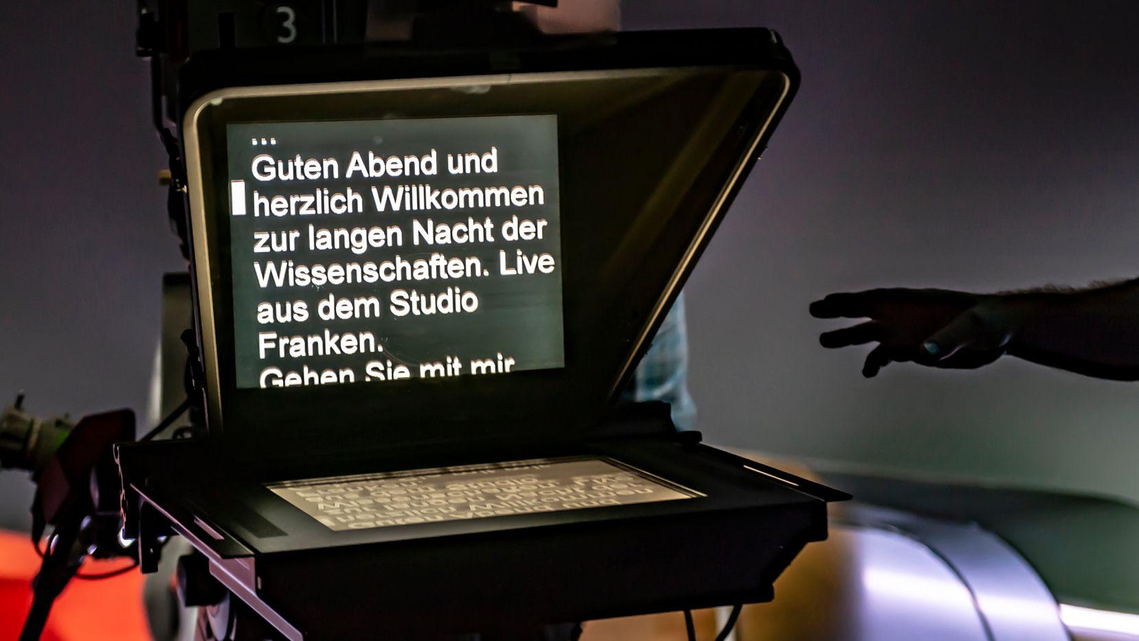 """""""Lange Nacht der Wissenschaften"""" im BR-Studio Franken 2019."""