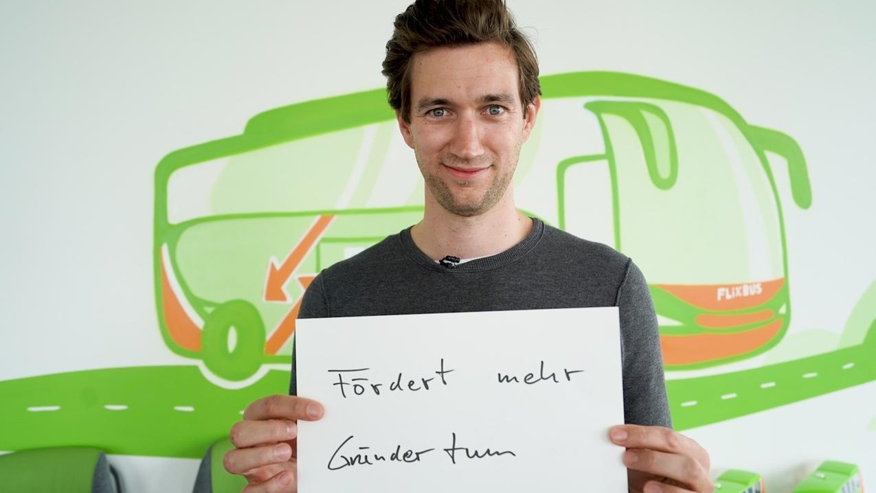Jochen Engert von Flixbus