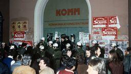 Massenverhaftungen in Nürnberg | Bild:picture alliance/dpa