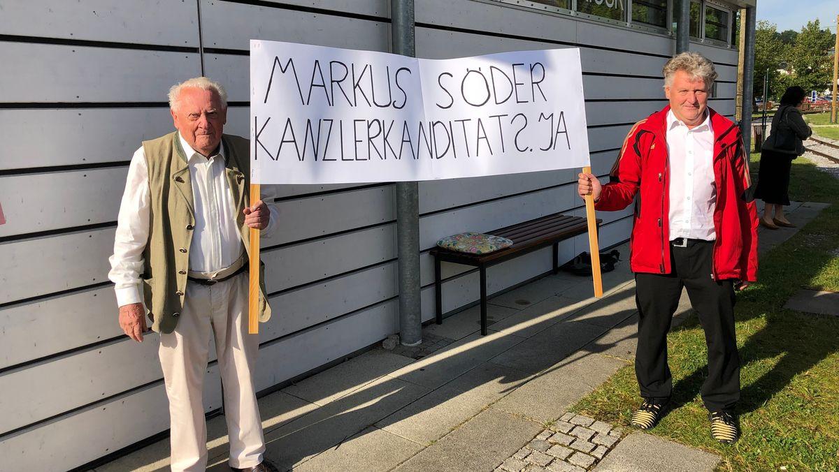 Söder-Fans in Herrenchiemsee