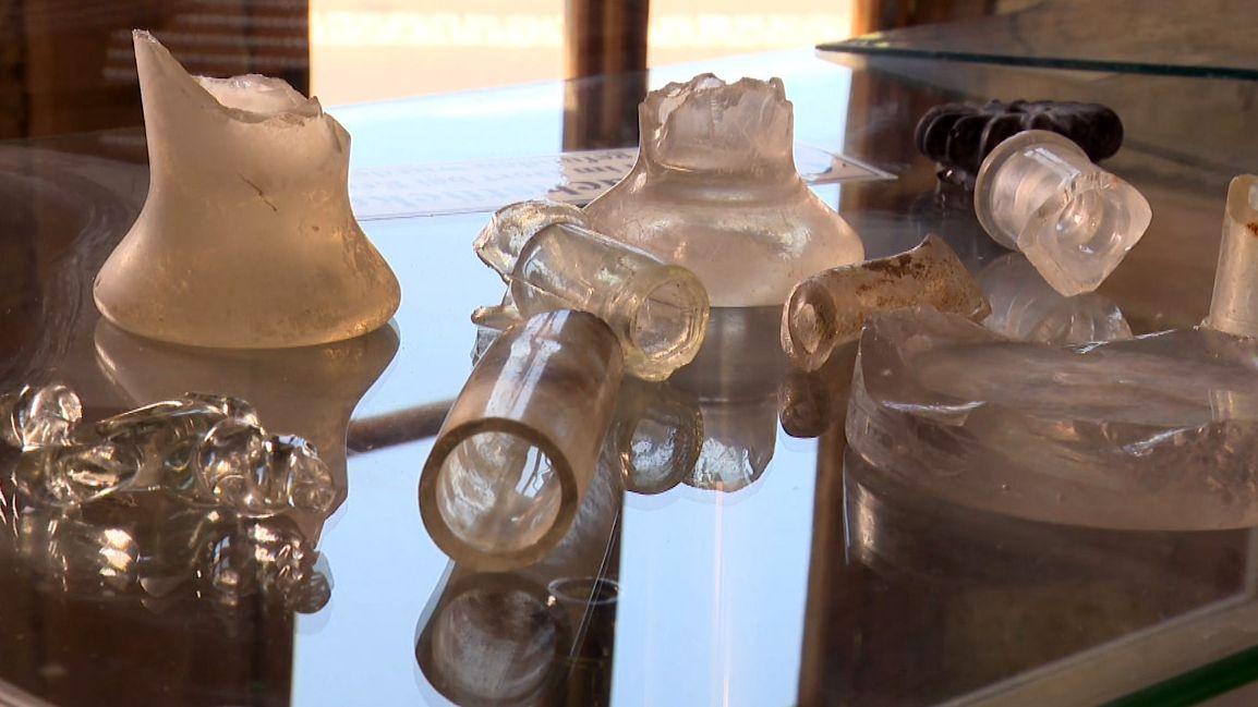 Fundstücke aus der Glashütte Fabrickschleichach