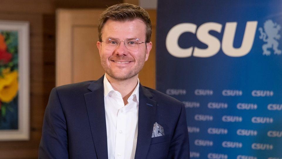Der neue Nürnberger Oberbürgermeister Marcus König von der CSU