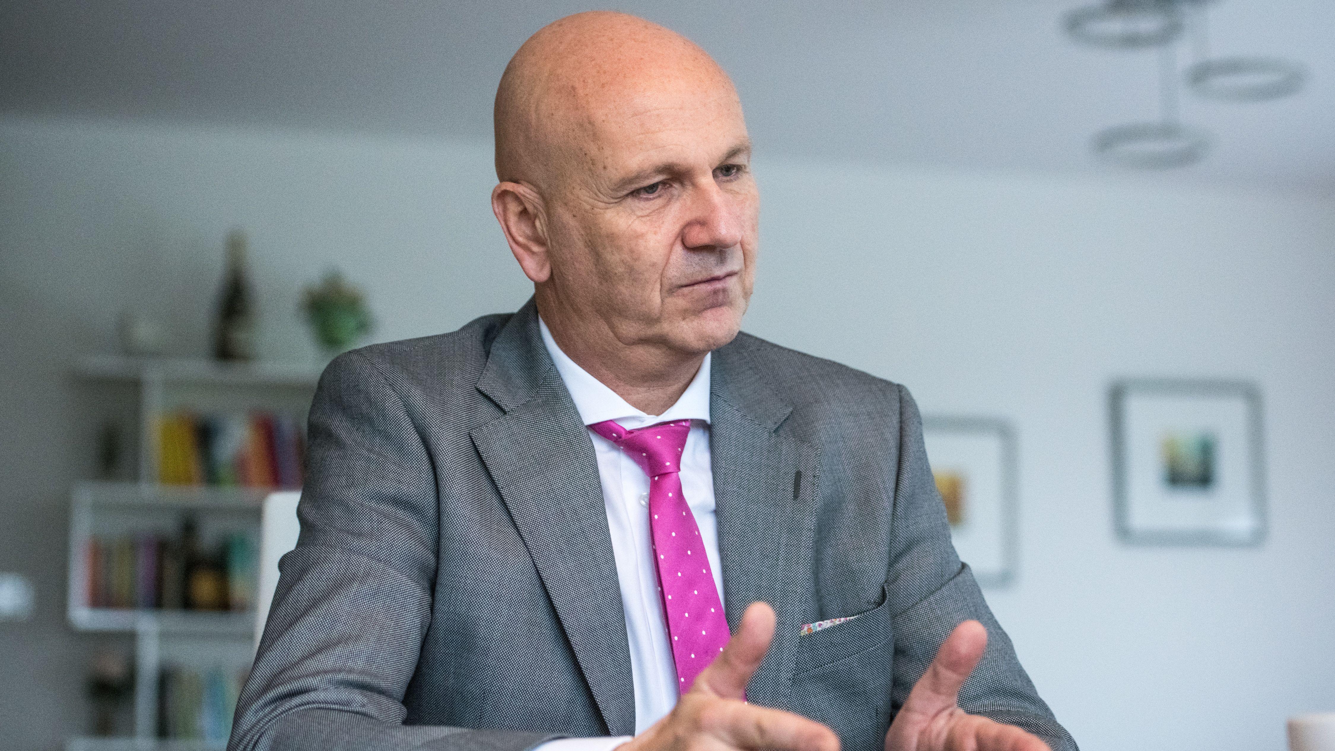 Uwe Brandl, der Präsident des Bayerischen Gemeindetages und Bürgermeister von Abensberg