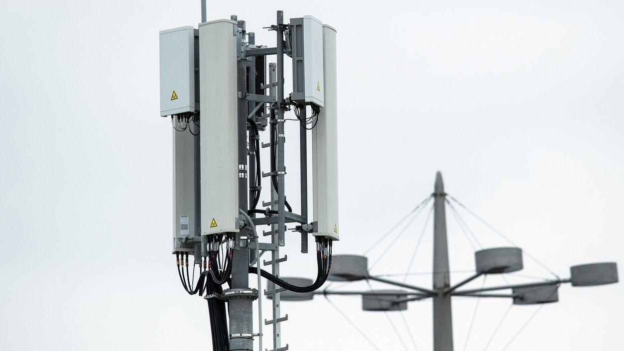 Symbolbild: Mobilfunkantennen für das 5G-Netz