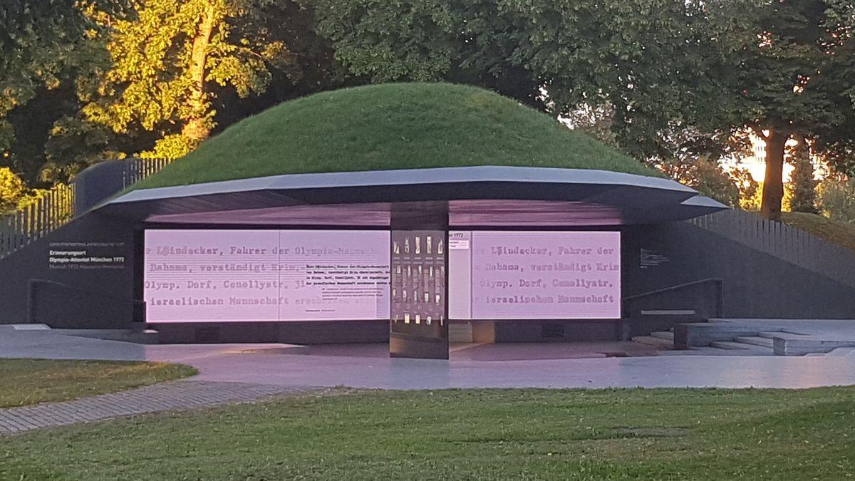 Die Gedenkstätte im Olympiapark