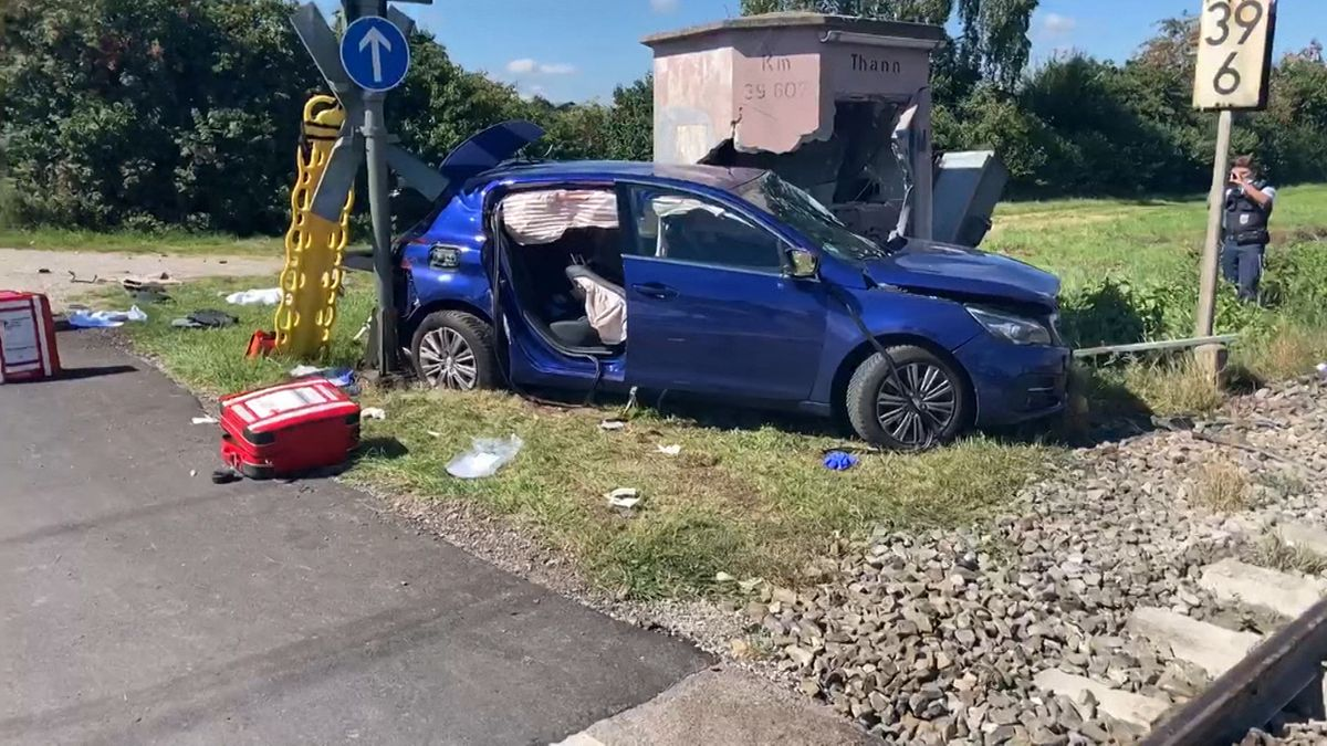 Unfall in Warngau