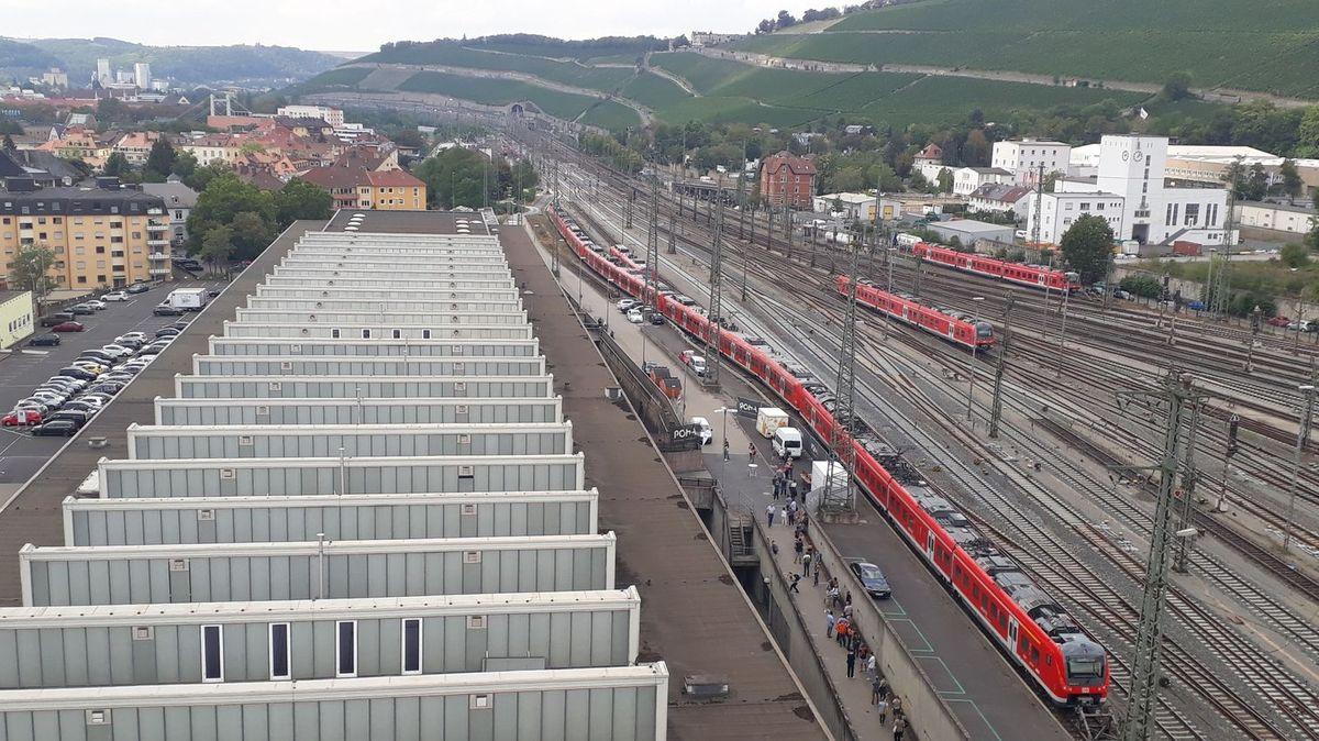 Die Würzburger Posthalle.