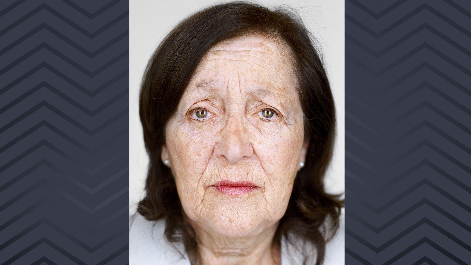 Porträtaufnahme der Holocaust-Überlebenden Marta Wise