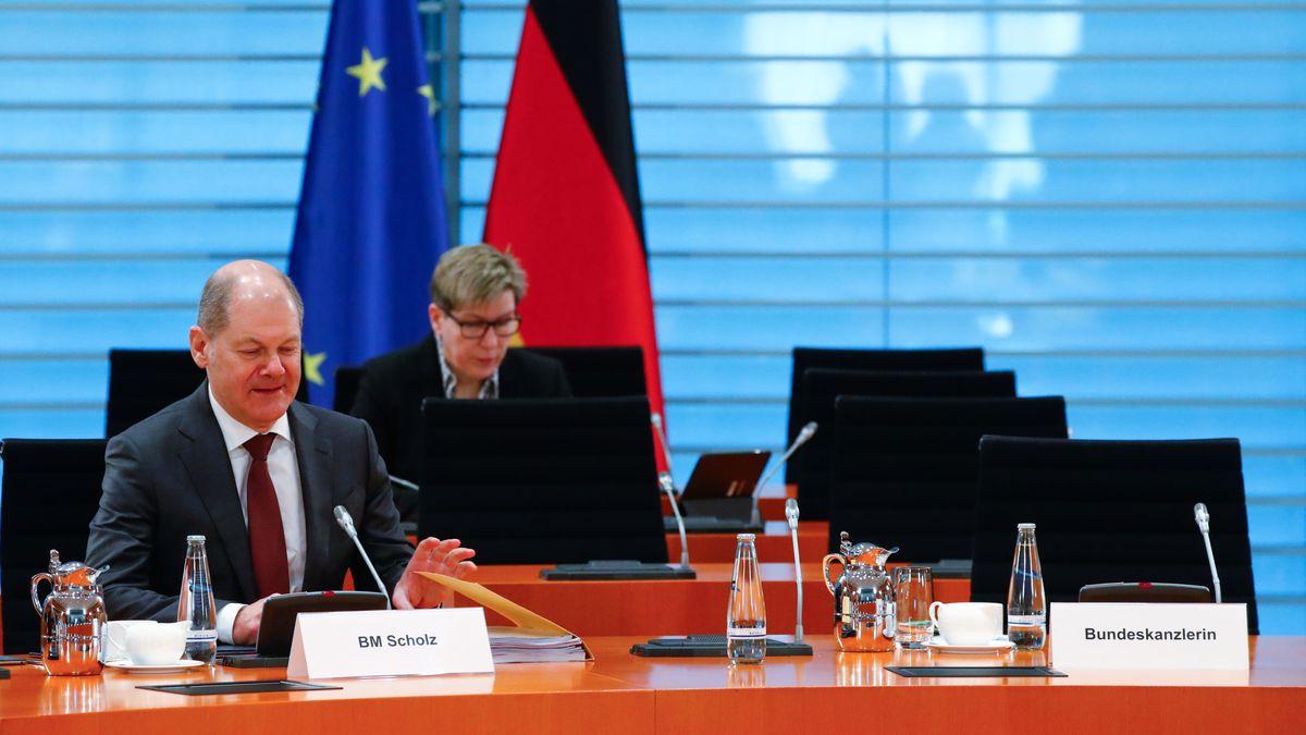 Kabinettssitzung in Berlin