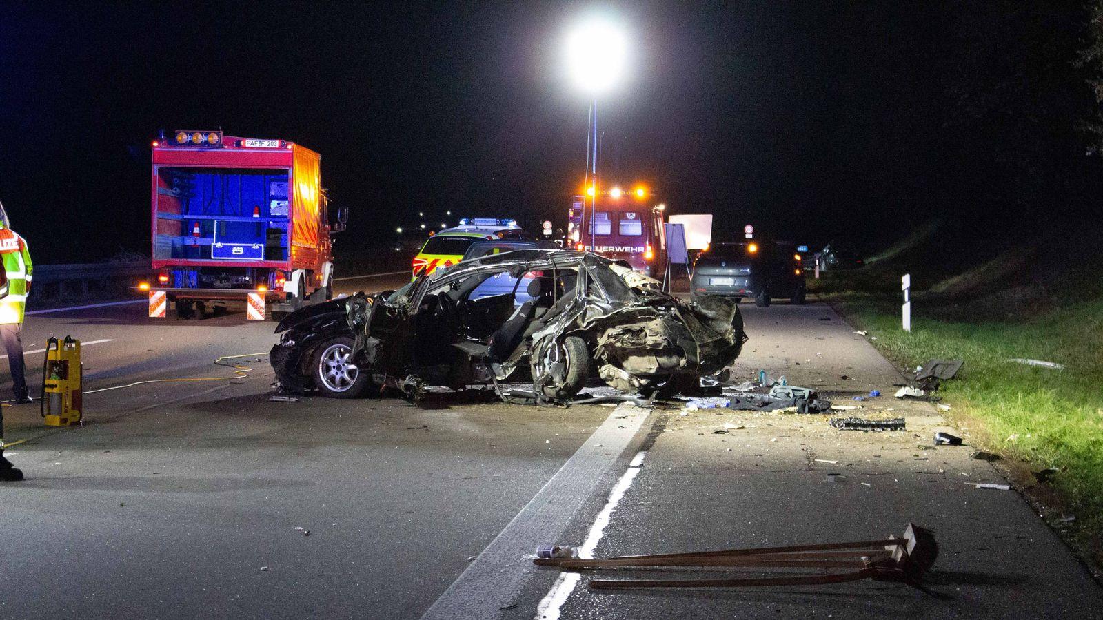 Untersuchungshaft nach tödlichem Unfall auf der A9 bei Manching - BR24