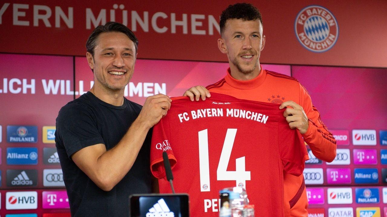 FC Bayern München - Präsentation Ivan Perisic