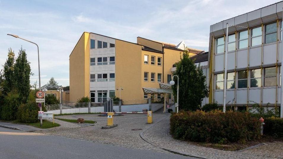 Das Krankenhaus in Vilshofen im Kreis Passau
