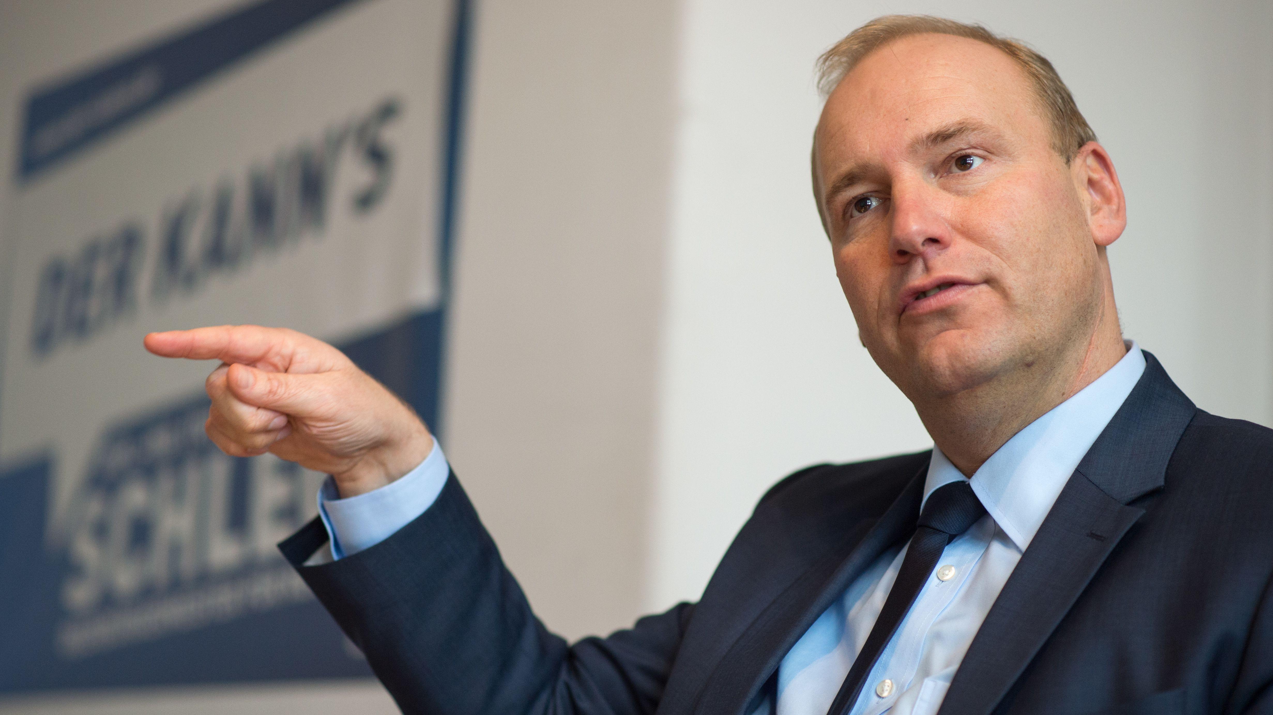 CSU-Stadtrat Christian Schlegl