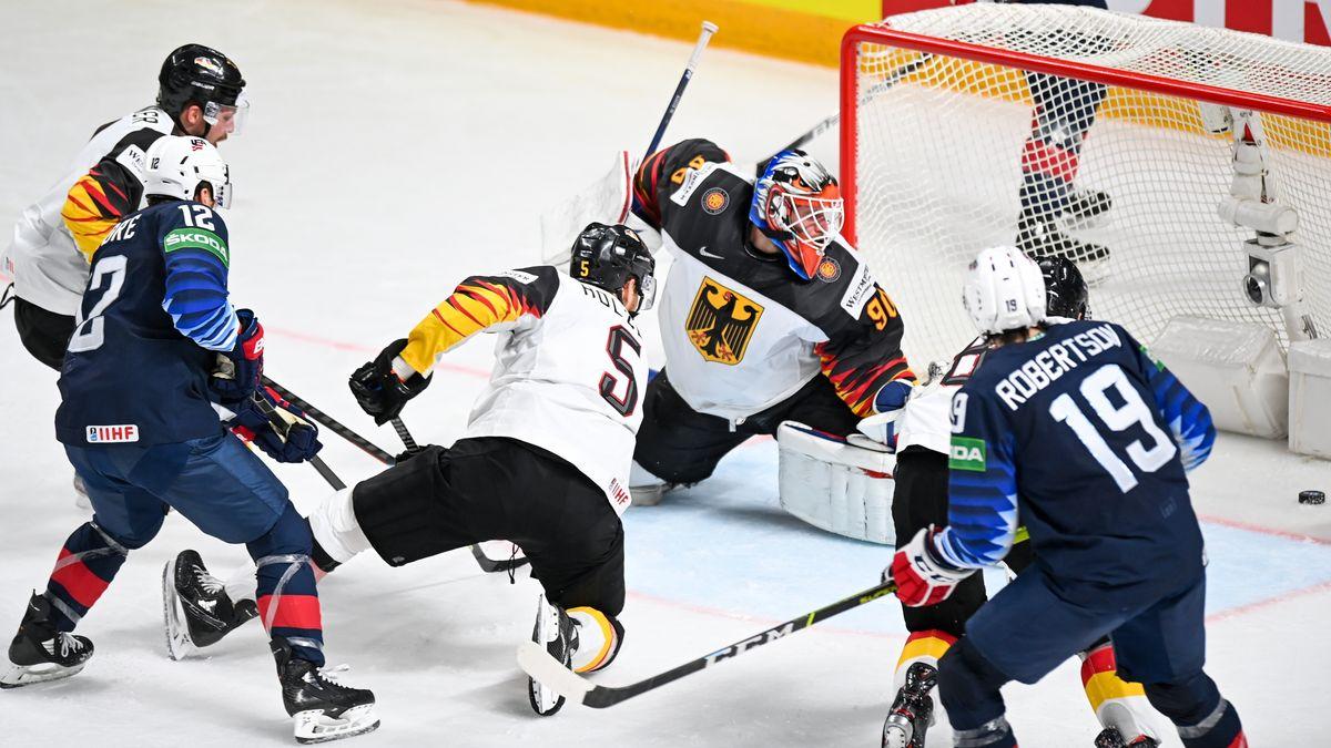 Spiel um Platz 3 bei der Eishockey-WM in Riga.