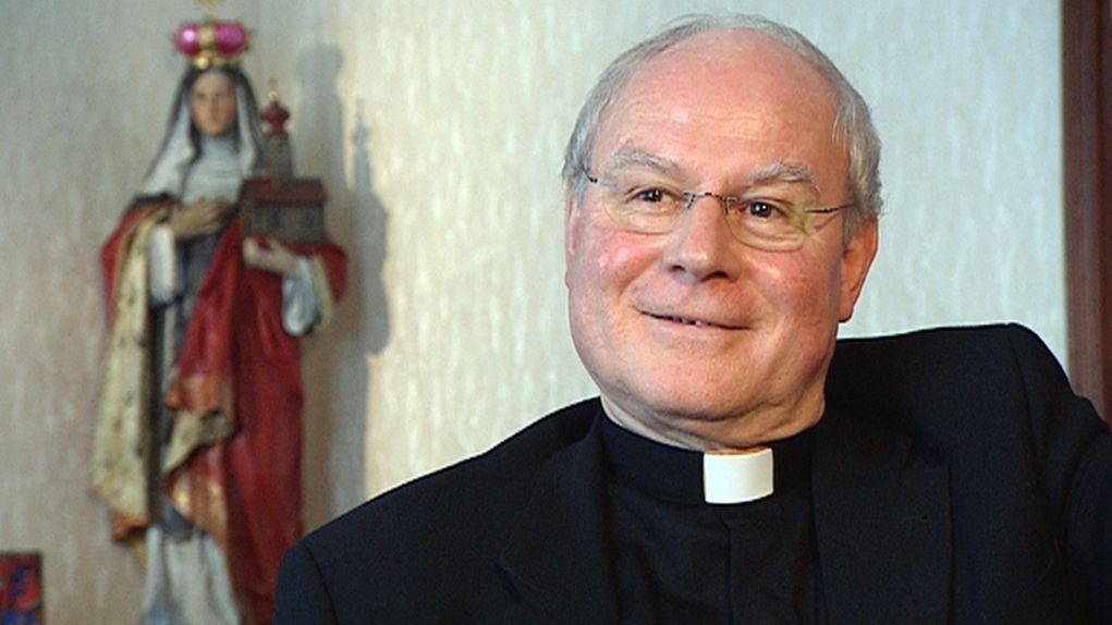 Der Augsburger Bischof Konrad Zdarsa.