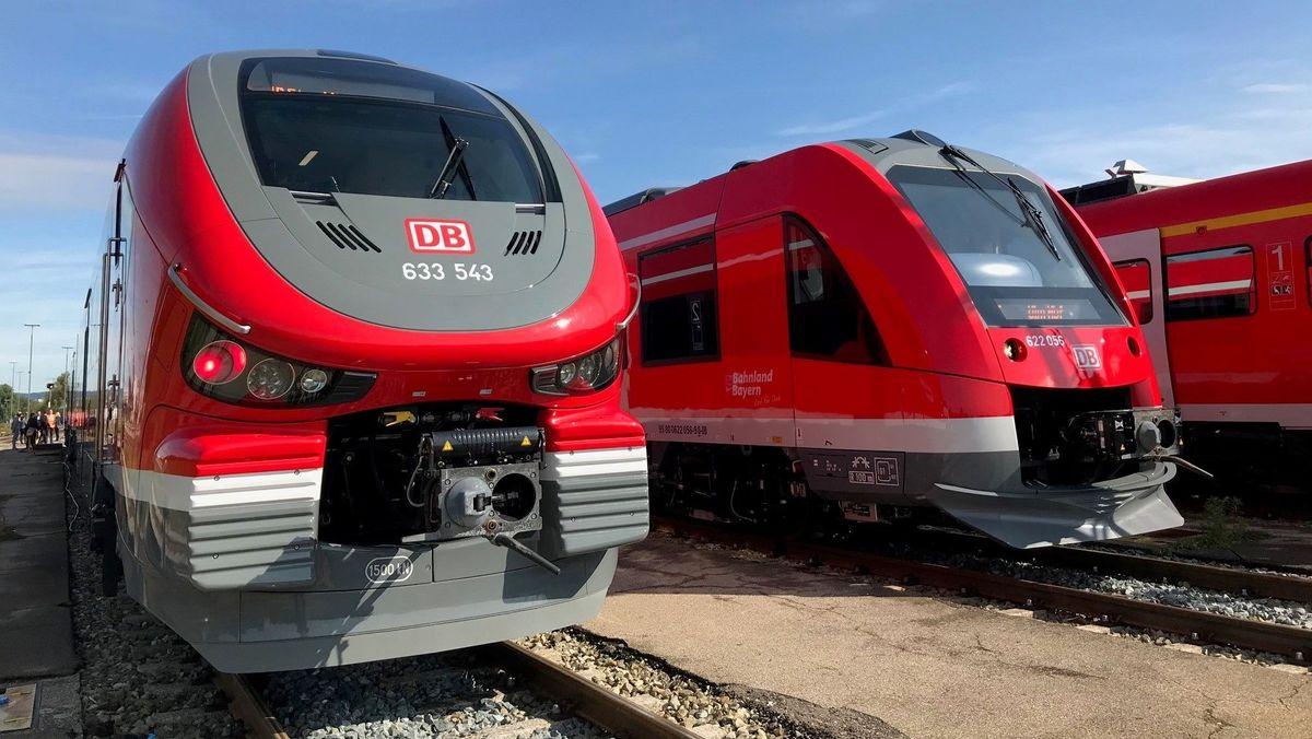 Bahn setzt im Allgäu neue Dieselzüge von Alstom und Pesa ein