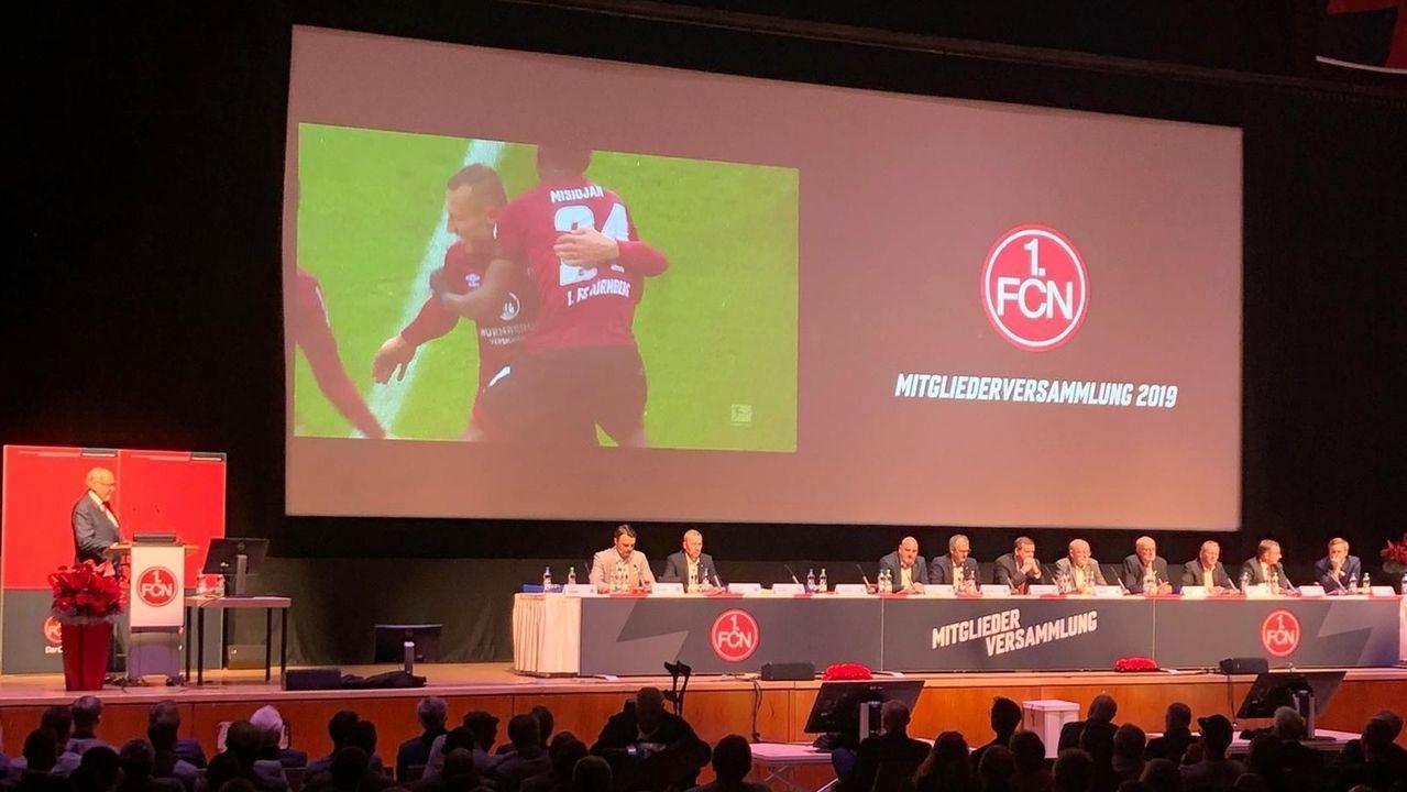Mitgliederversammlung 1. FCN