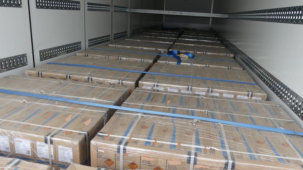 Über 15 Tonnen Sprengstoff im Laderaum