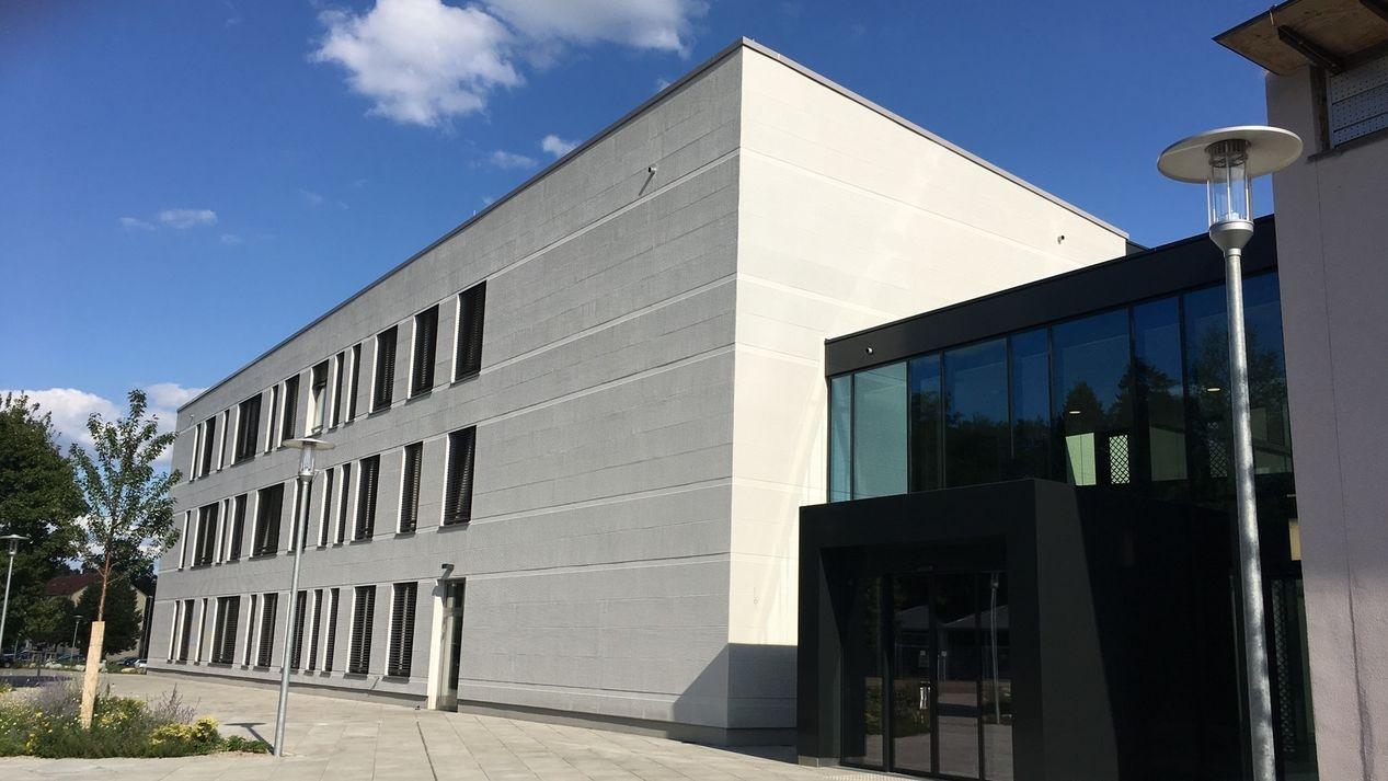 Erweiterungsbau des Bezirkratshauses Ansbach
