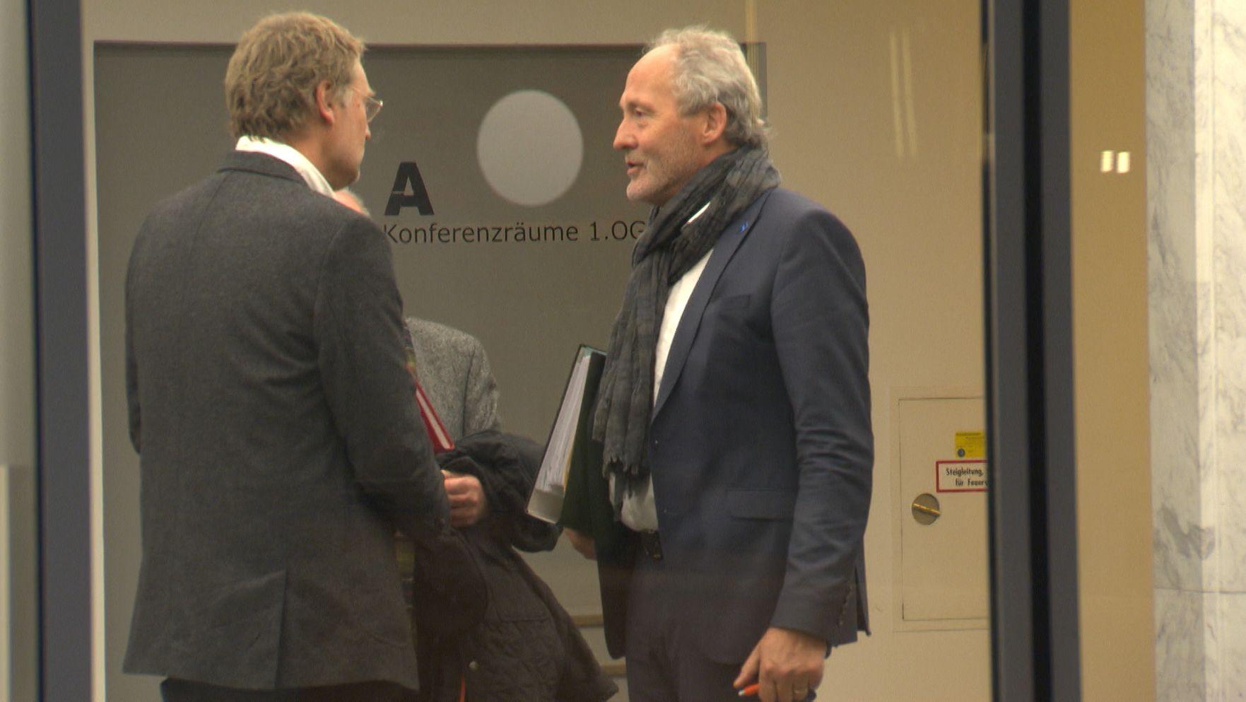 Schwäbische Landräte im Verbraucherschutzministerium in München