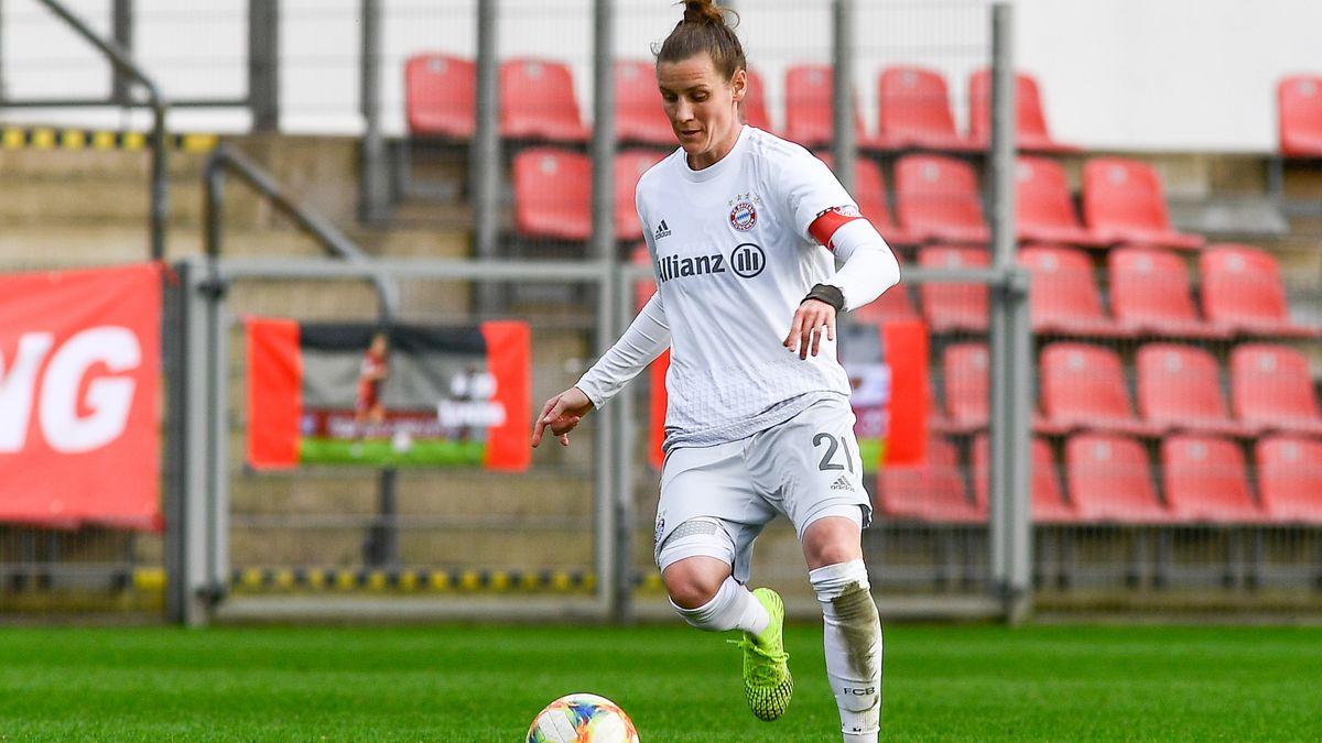 Simone Laudehr vom FC Bayern München