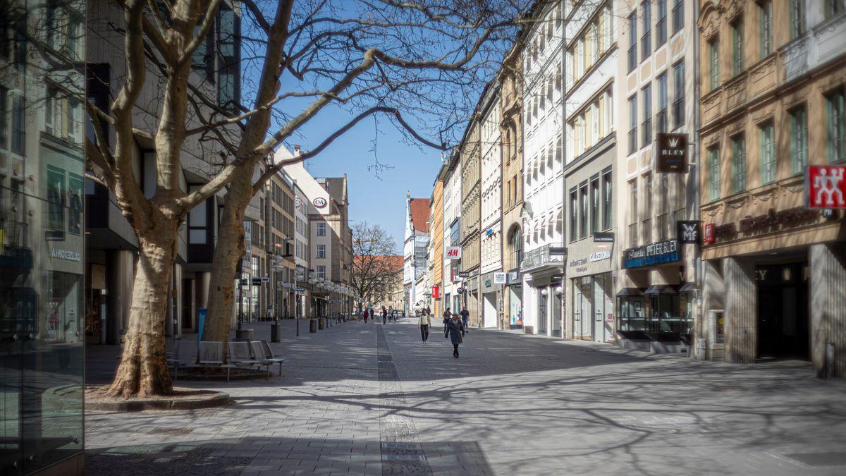 Die Münchner Innenstadt.